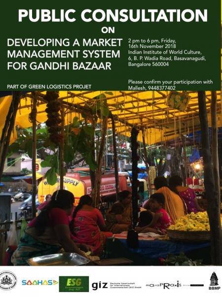 Gandhibazaar Market Management System Public Consultiation