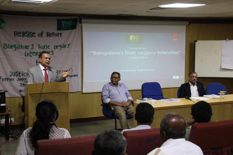 Justice N Kumar speaking