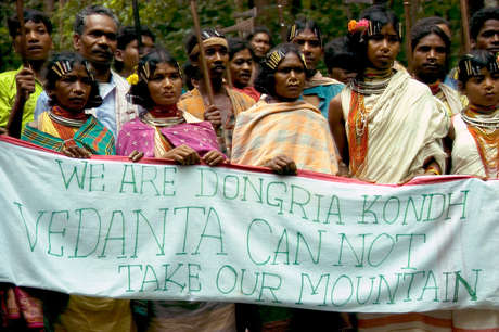 NSS protest Vedanta