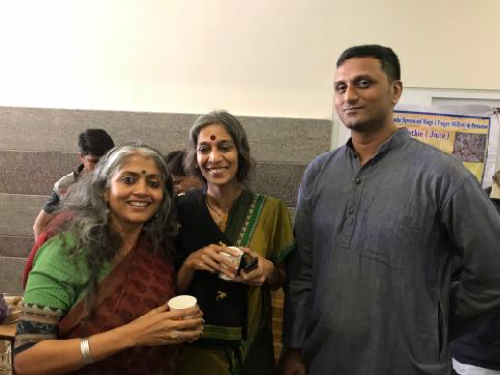 Kirtana Kumar, Madhu Bhushan and Chandan Gowda
