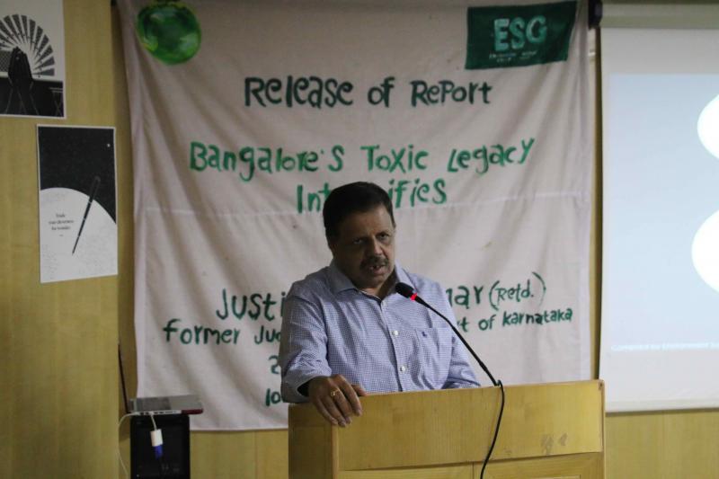 A Ramesh, Senior Environmental Officer, KSPCB
