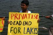 agara lake protest