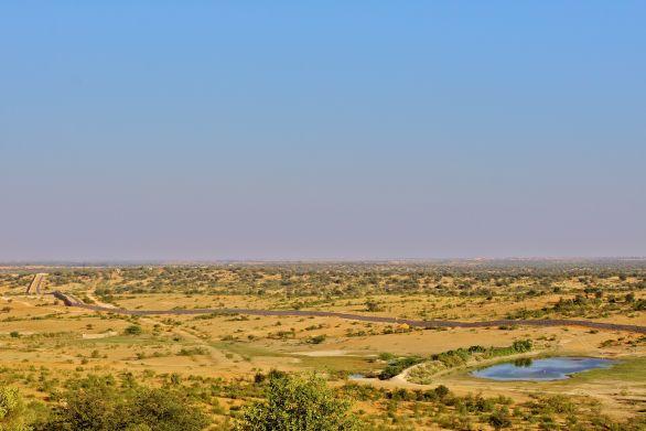 Challakere Grasslands Landscape