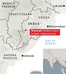 niyamgiri map