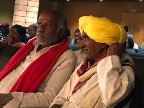 Doddaullarthi Karianna of Amrit Mahal Kaval and Neelkanth Mama, a very senior shepherd and pastoral activist