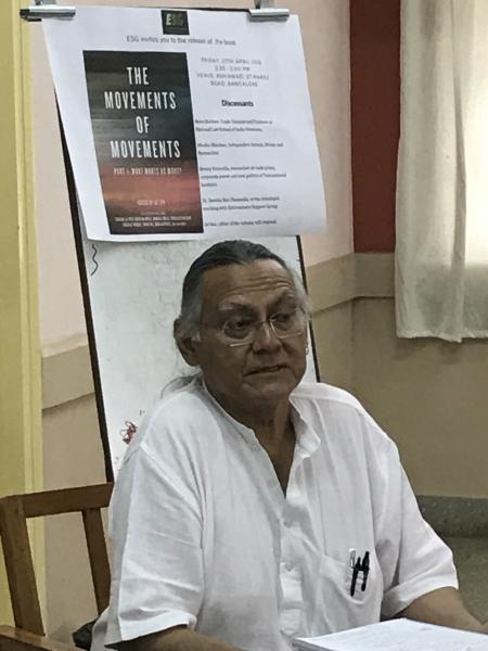 Jai Sen at book release