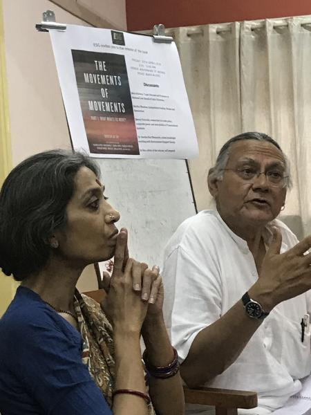 Madhu Bhushan and Jai Sen