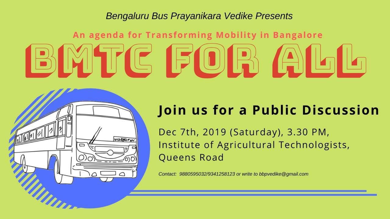 BMTC for all: A Public Discussion