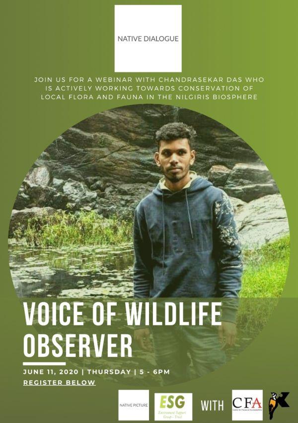 Voice Wildlife Observer